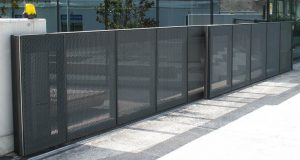 Secure fence and access gate located in Thornton for commercial and business property